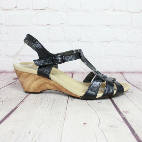 Womens Original Worishofer Footprint Black Leather