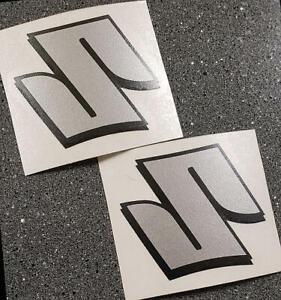 Suzuki S Logo Silver decals 1000 sticker 1100 gsxr 85 rmz 600 gsxs 750 drz 450