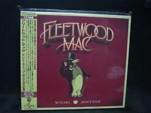 Details about FLEETWOOD MAC 50 Years-Don't Stop JAPAN 3CD Stevie Nicks  Lindsey Buckingham