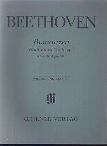 Beethoven-Romanzen-Violine-und-Orchester-Opus-40-Opus-50-Klavier-u-Violine