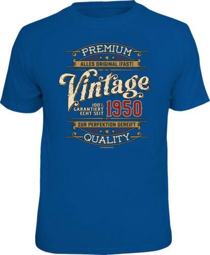 T-Shirt Premium Vintage 1950 alles original 70sten 70.Geburtstag Happy Birthday