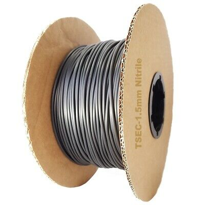 Cable de Caucho de Nitrilo 3mm diámetro-Por Metro