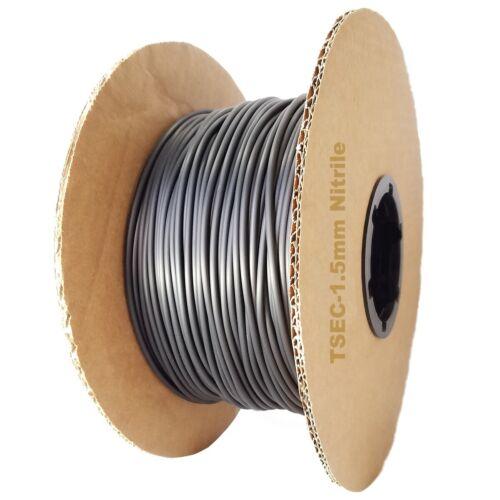 UK Supplier From 1 Metre Length Nitrile Rubber 70 O Ring Cord 1.5MM Diameter