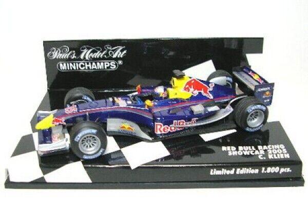 Red Bull Racing Cosworth No.15 C. Klien Formula 1 Showcar 2005 - 1:43 MINICHAMPS