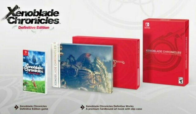 Xenoblade Chronicles Definitive Works Set (Nintendo Switch, 2020) NEW