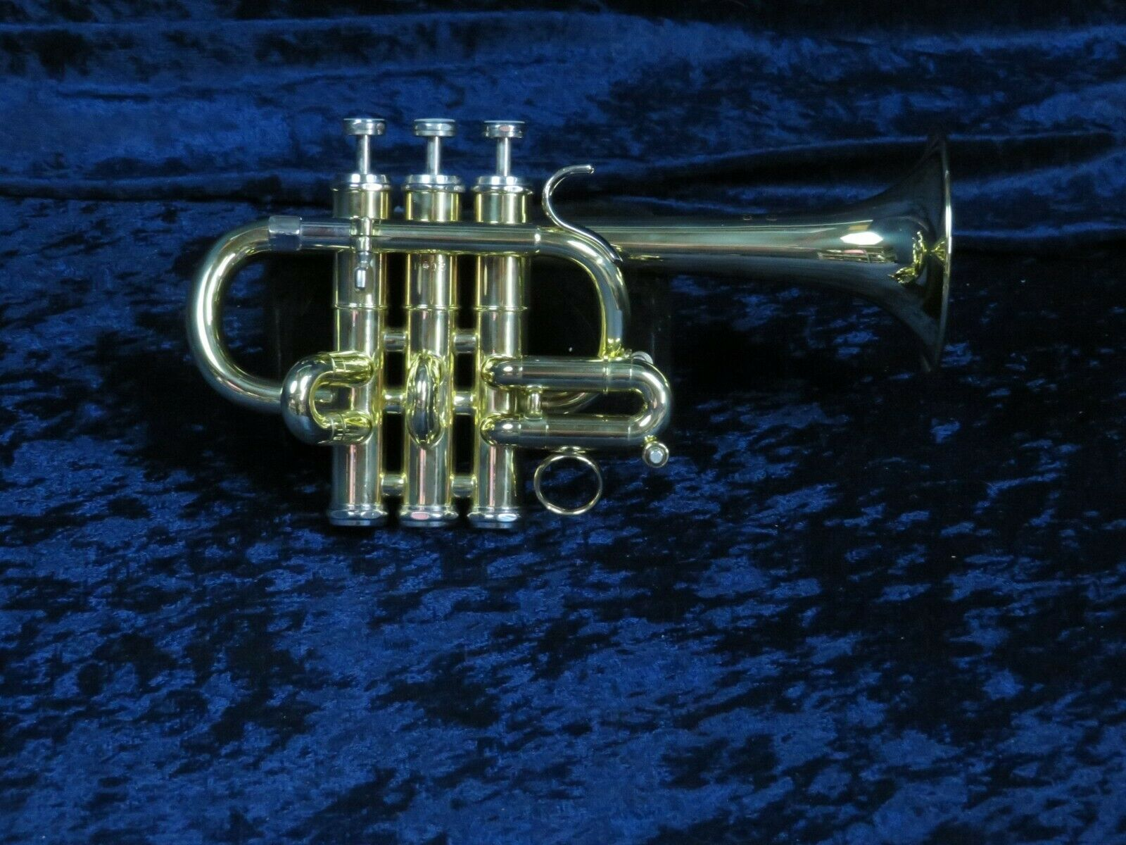 Capri by Getzen 3 Valve Piccolo Trumpet Ser P413 Mint Condition Plays Well