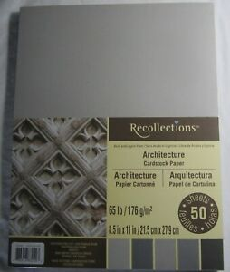 Recollections-Cartulina-Papel-8-1-5-1cm-x-27-9cm-50-Sheets-29-5kg-5-Color