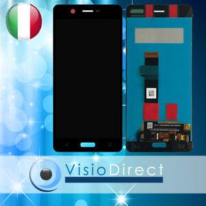 Schermo-per-Nokia-5-5-2-034-Touch-screen-Vetro-LCD-Nero