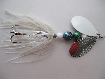 Pike//Bass **PIKE HUNTER** handmade inline spinner