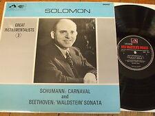 HQM 1077 Schumann Carnaval / Beethoven Waldstein Sonata / Solomon