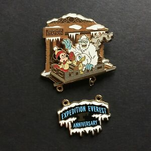 WDW-Expedition-Everest-1st-Anniversary-Dangle-Micke-Donald-Yeti-Disney-Pin-53676