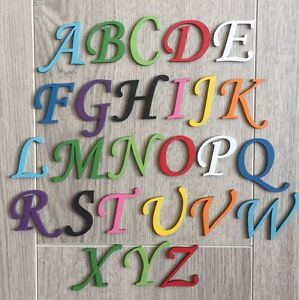 Script-Font-Wooden-Letters-amp-Numbers-Alphabet-Letters-amp-Numbers-3mm-Thick