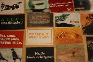 Werbekarten-Postkarten 40 Stück