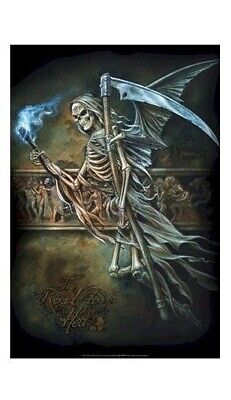 NIGHTSHADE ~ END OF TIME ~ 24x36 FANTASY ART POSTER ~ Death Cemetery