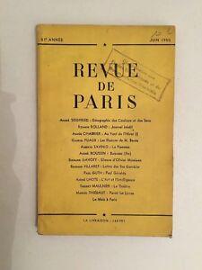 Revista De París 57è Año Junio 1950