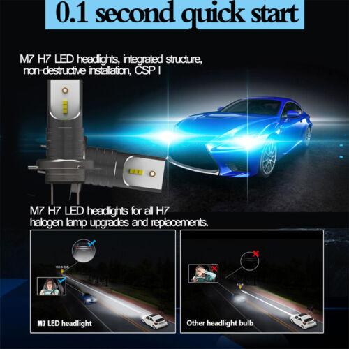 H7 110W 26000LM LED Car Headlight Conversion Globes Canbus Bulb Hi//Lo Beam 6000K