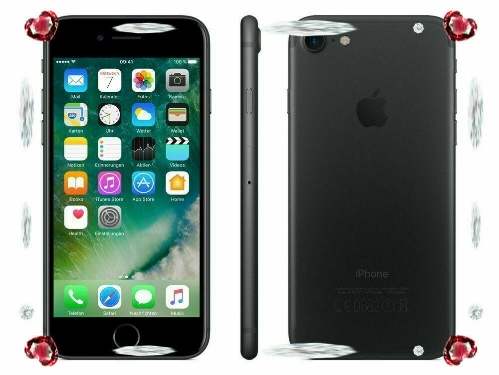 iPhone: APPLE IPHONE 7 128GB Black/Nero GARANZIA 24 MESI NUOVO SIGILLATO