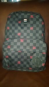 Details about Vans x Marvel Spiderman Backpack Superbreak School Book Bag