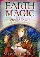 Earth Magic Oracle Cards by Steven D. Farmer (NEW)