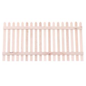 1-12-Dollhouse-Miniature-Mini-Wooden-Garden-Fence-Model-Decor-Accessor-Nd