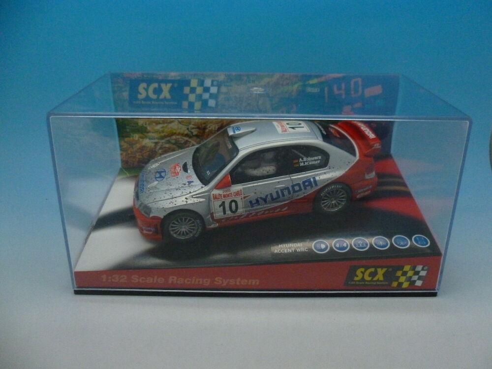 SCX Hyundai Accent WRC dirt effect Ref 1000808