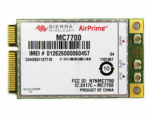 AIRPRIME MC7700 DRIVER DOWNLOAD (2019)