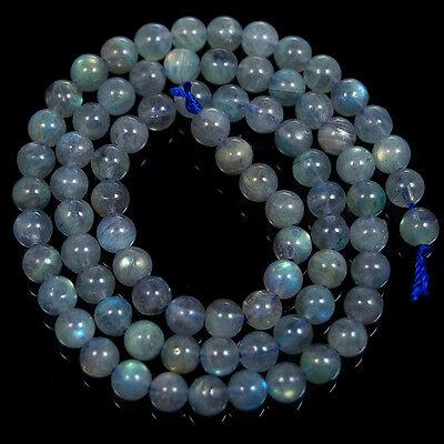 "Natural A++ Labradorite Gemstone Round Loose Beads 15"" 4mm 5mm 6mm 7mm"