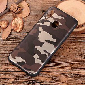 Army-Camouflage-Case-For-Samsung-A10-A20E-A30-A60-A70-Soft-TPU-Camo-Back-Cover