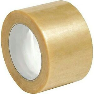 "(6) Rolls 3"" X 110 YD Clear Packing Box Shipping Tape"