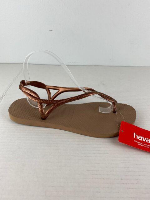 Havaianas Luna Sandal Girl Bronze for