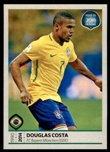 Panini WM 2018 World Cup Russia Douglas Costa Brasilien Sticker 368