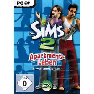 Die-Sims-2-Apartment-Leben-AddOn-Erweiterungspack-Komplett-Deutsch-PC-NEU-amp-OVP