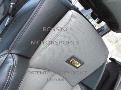 2 FRONTS TO FIT A MERCEDES C CLASS YS01 RECARO CAR SEAT COVERS d GREY