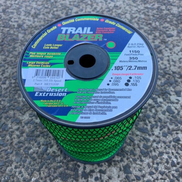 LINE TRIMMER CORD 2.7mm TRAIL BLAZER 2.25KG BULK - 350 METRES