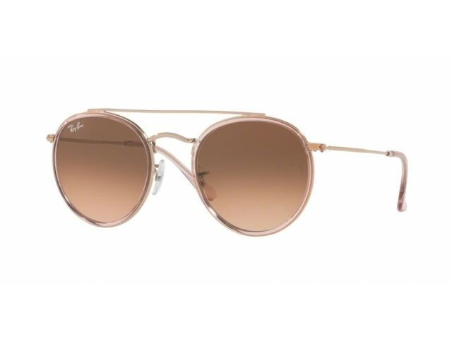 f905a22773 Sunglasses Ray-Ban Rb3647n Round Double Bridge 9069 a5 51 Pink for ...