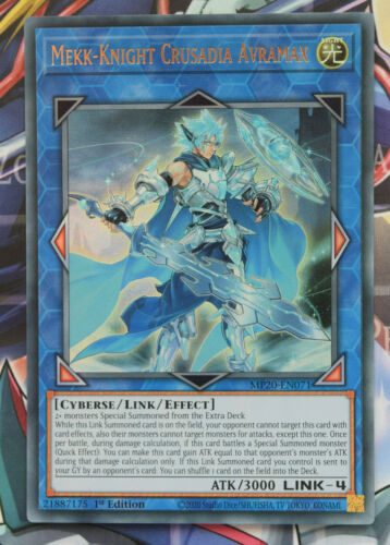 MP20 Prismatic Secret Ultra Super Rare Cards Yugioh 2020 Tin Of Lost Memories