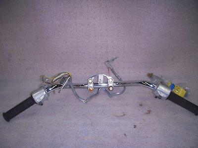 Used 1968-69 Honda CB350 CB 350 Twin Handlebars with Mounts and switches FO406