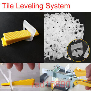 TILE LEVELING SYSTEM-CLIPS-SPACERS-FLOOR AND WALL TILES