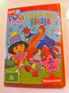 Dora-the-Explorer-Super-Silly-Fiesta-Region4-DVD-BRAND-NEW