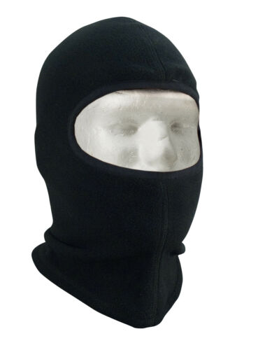 balaclava fleece black or foliage green one hole lightweight  rothco 5580