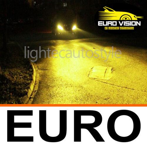 LIGHTEC H7 GOLDEN EURO YELLOW XENON HALOGEN BULBS 12V 100W UPGRADE 3000K ROVER
