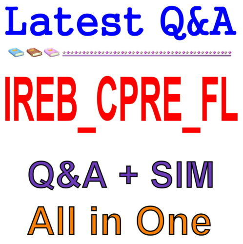 IREB Certified Professional Requirements Engineer IREB/_CPRE/_FL Exam Q/&A PDF+SIM