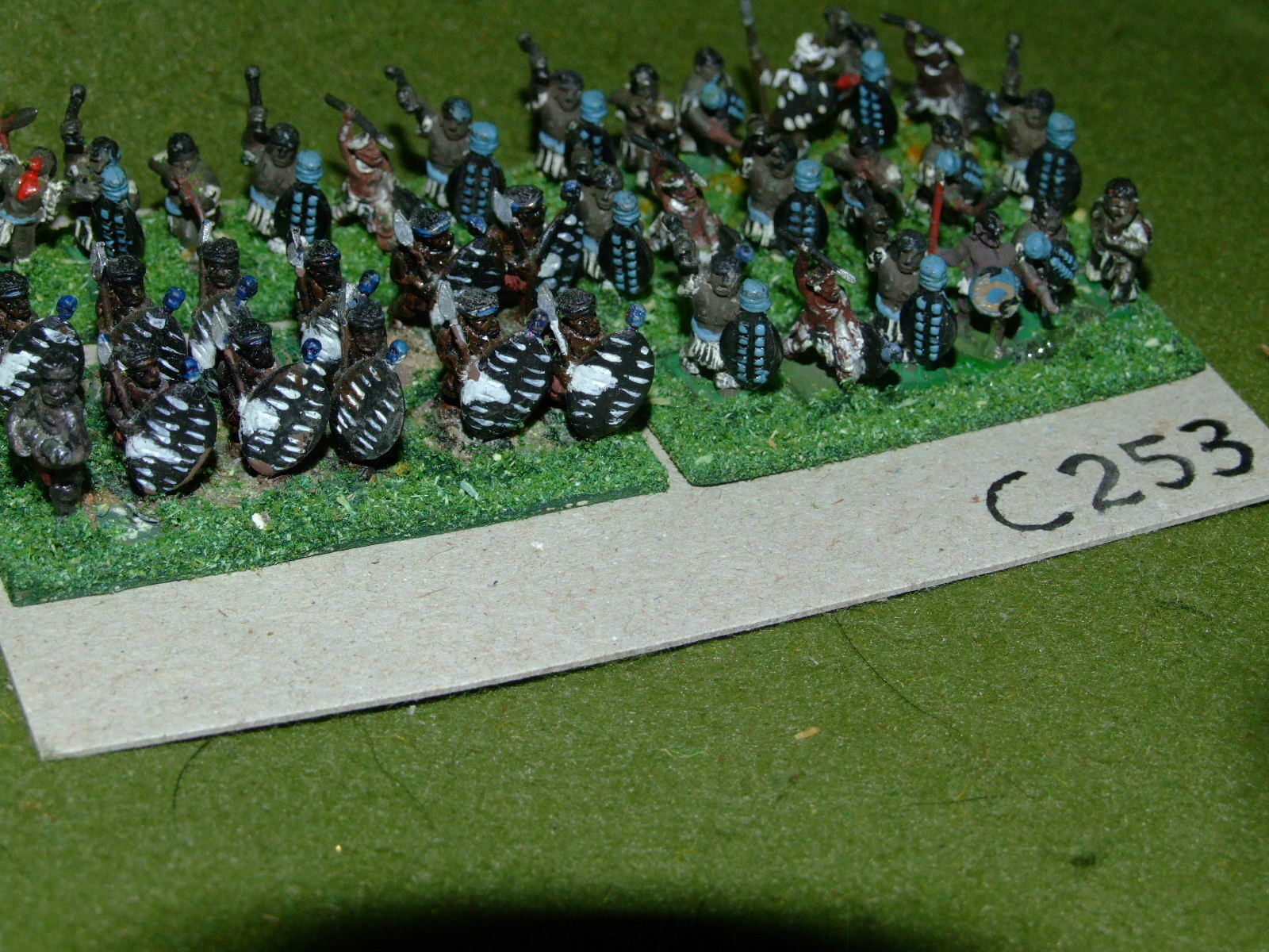15mm colonial   zulu - 36 Infantry - inf (CL253)