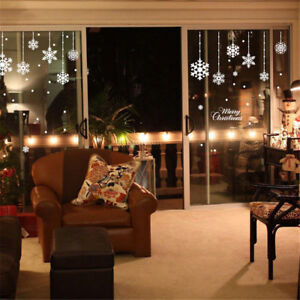 Adesivo-Snowflake-sticker-vetrina-negozio-fiocchi-neve-natale-merry-christmas