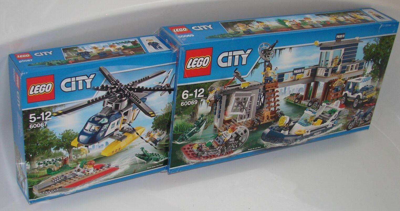 LEGO® City Sumpf Set 60067 + 60069 Nte Wahl  Sity Swamp Set NEW 2nd choice