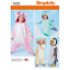 Simplicity Toddlers Animal Costumes All In One PJ Sewing Pattern 1032