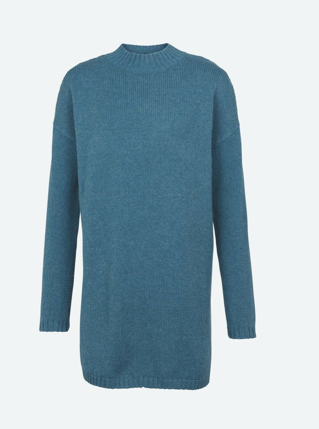Fat Face - Women's - Sennan Longline Jumper - bluee- 55% Cotton - BNWT