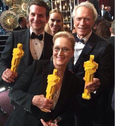 LEGO Oscar Statue Lego Movie Academy Award    Trophy 6306b1