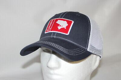 BRAND NEW COSTA DEL MAR BASS MESH ADJUSTABLE CAP HAT  NAVY STONE