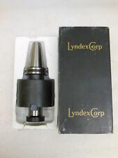 "Lyndex-Nikken C4011-1000-4.00 1/"" CAT40 4/"" Proj Shell Mill Holder"